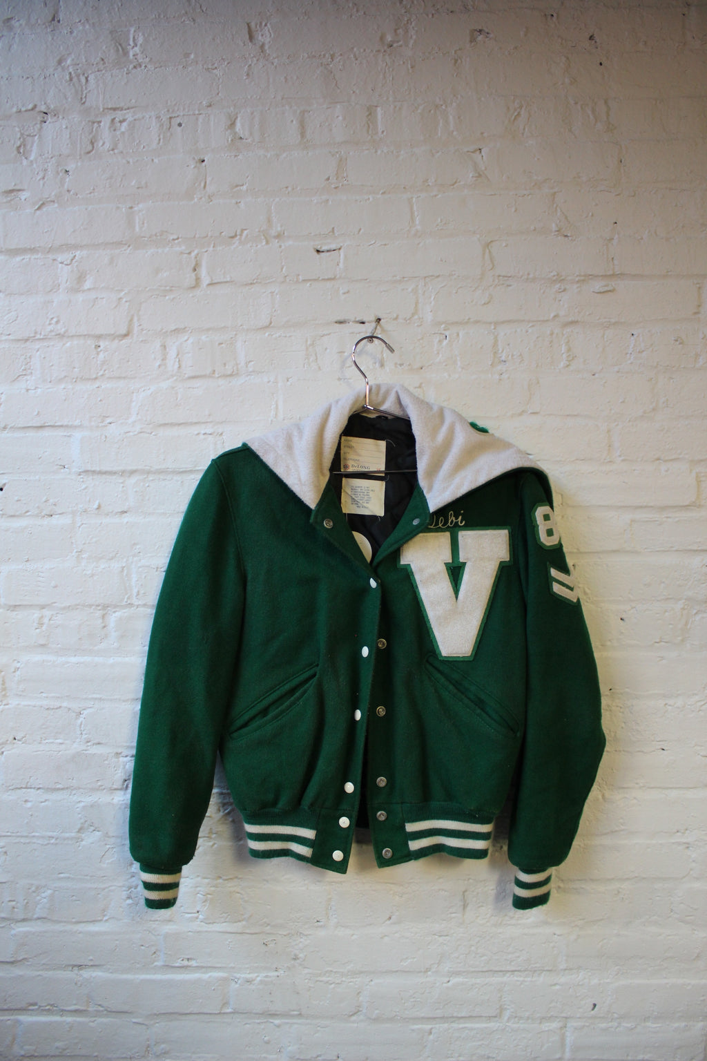 Delong Sportswear Letterman Jacket