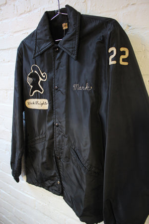 Black Knight Rutherford Football Jacket