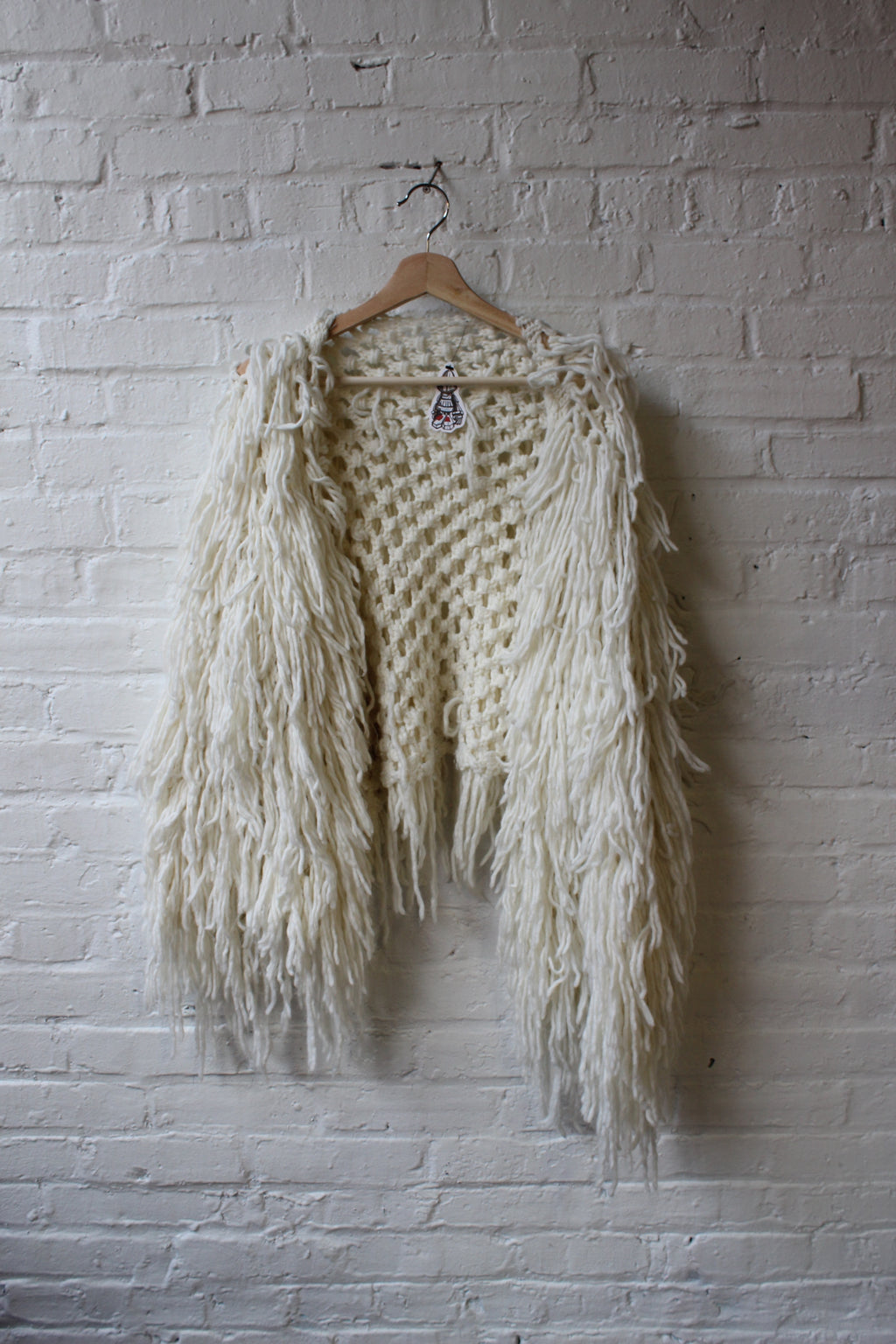 Knit Fringe Jacket
