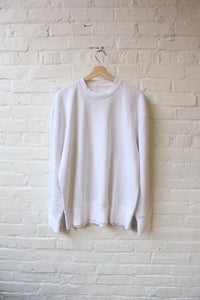 Plain White Crewneck