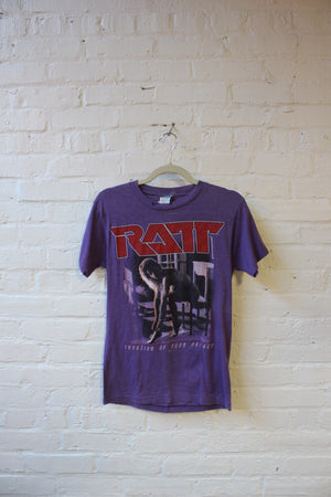 Ratt Invasion of Your Privacy tour '85 tee