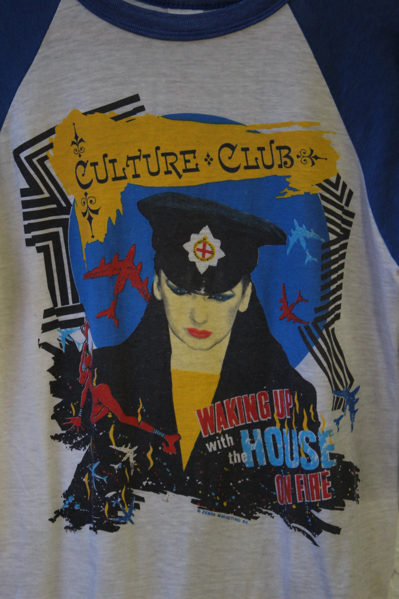 Culture Club House on Fire Tour Tee