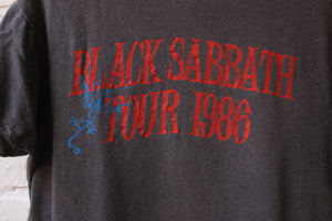 1986 Black Sabbath Tour tee