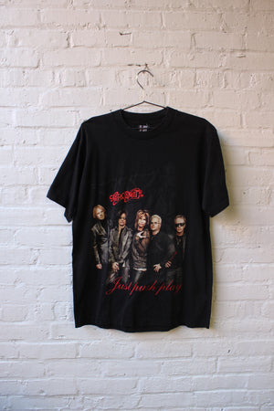 Aerosmith Just Push Play Tour Tee
