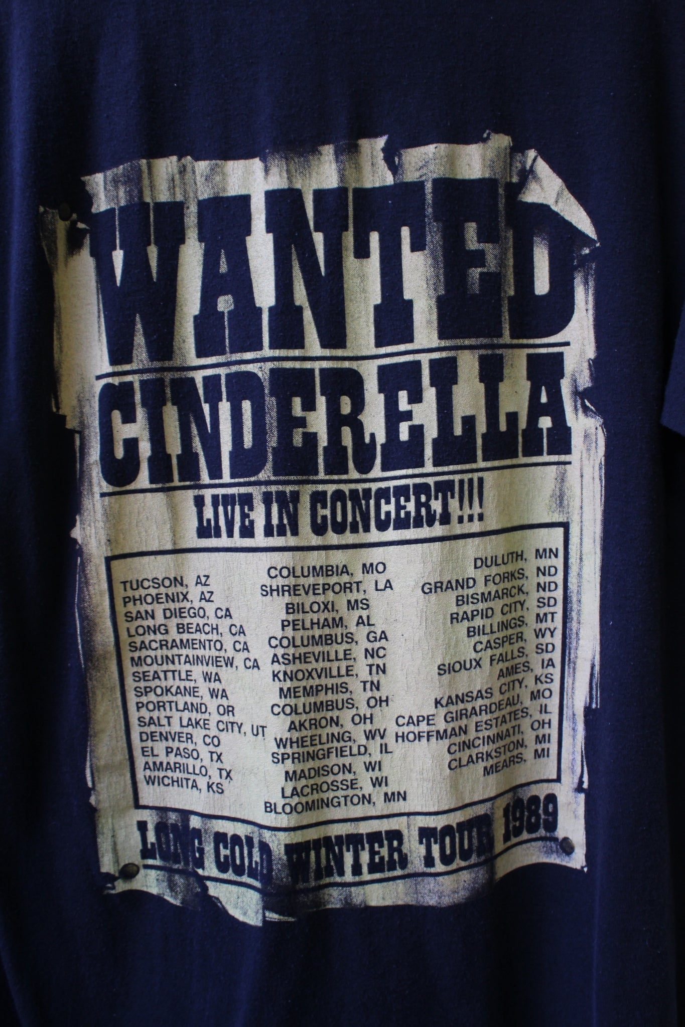 Cinderella Wanted Tee