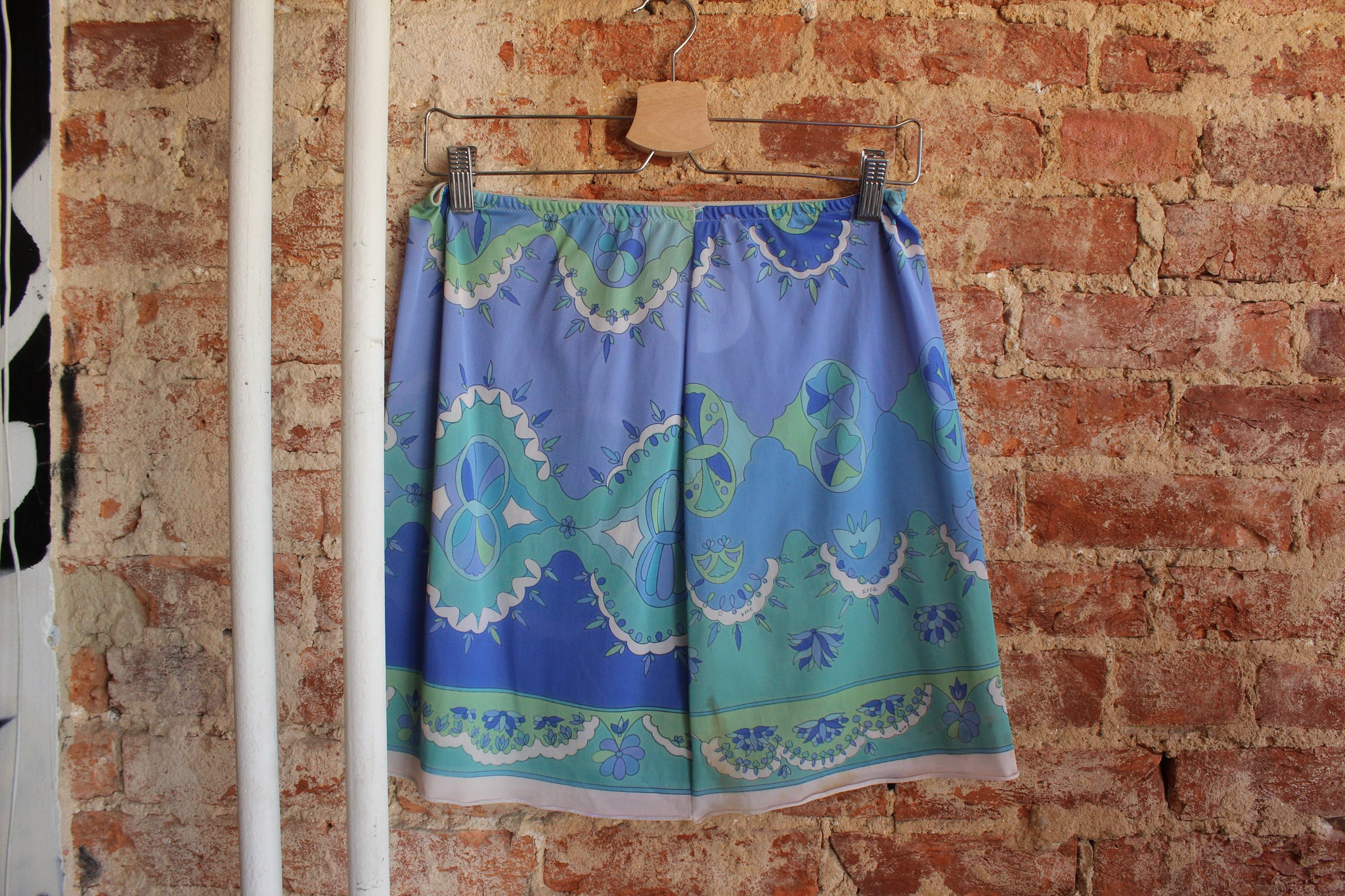 Periwinkle Patterned Skirt