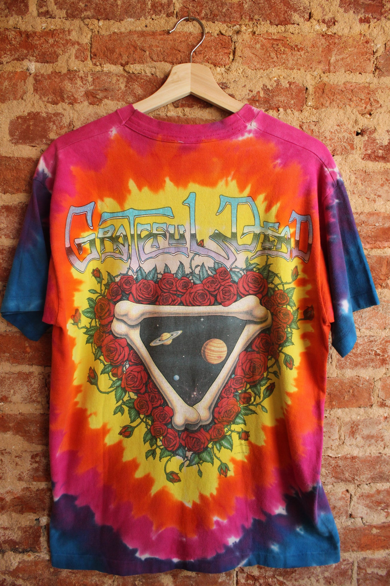 Space Your Face Grateful Dead Tee