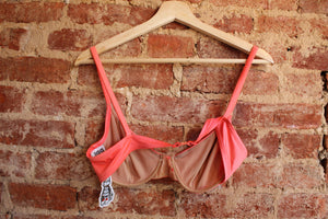 Peach Two-Piece Swimsuit
