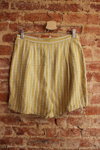 60s Yellow Shorts