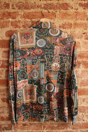 Terry Chicago Button Up Shirt