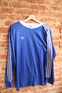 Royal Blue Adidas Soccer Jersey