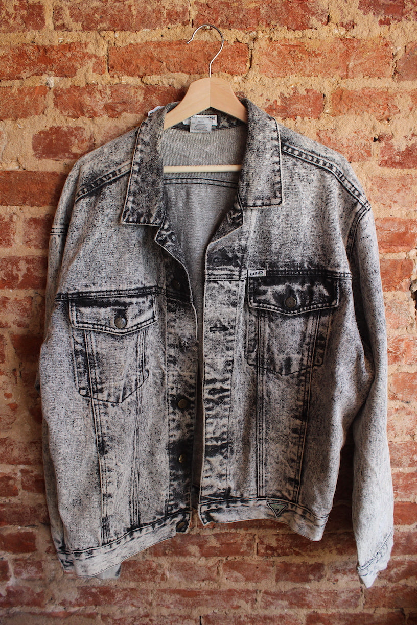 Georges Marciano By Guess Black Denim Jacket