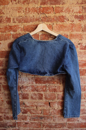 Moe Clothing Denim Sleeves