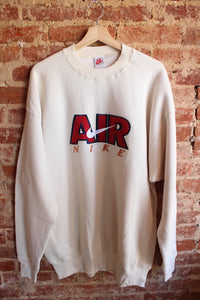 Air Nike Cream Crewneck