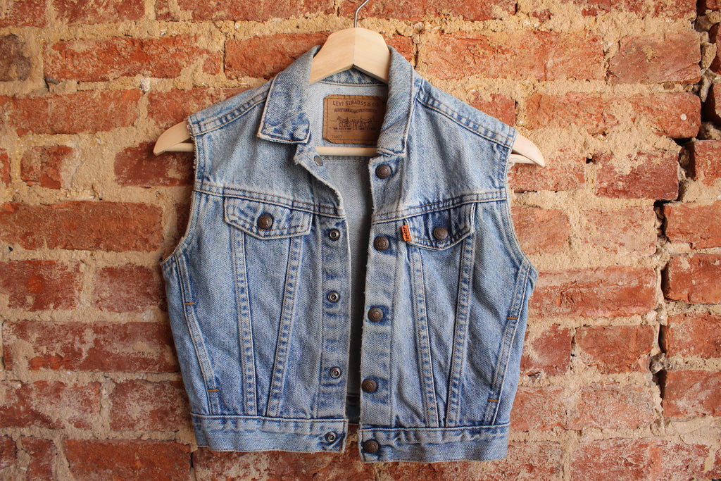 Kids Levi's Orange Tag Vest