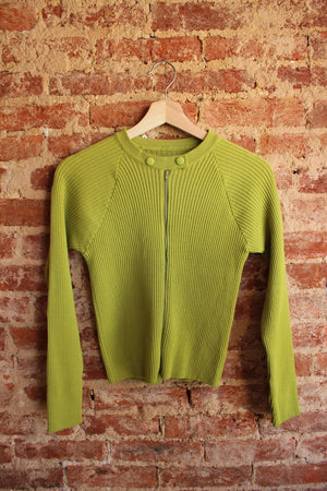 70's Green Sweater