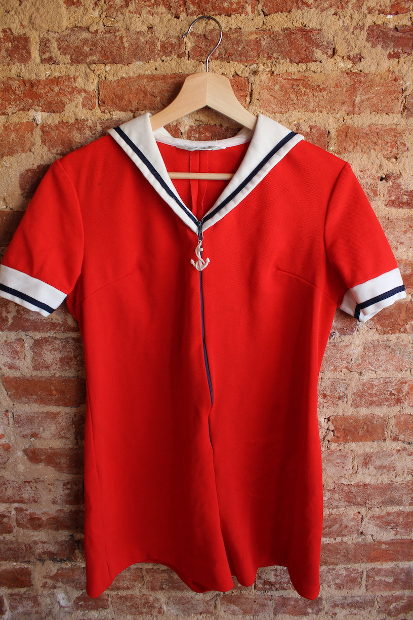 Ahoy! Sailor Romper