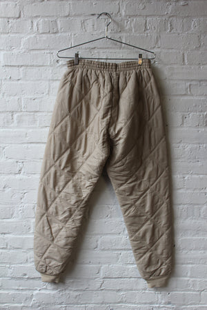 Vintage Sport Chief Quilted Joggers