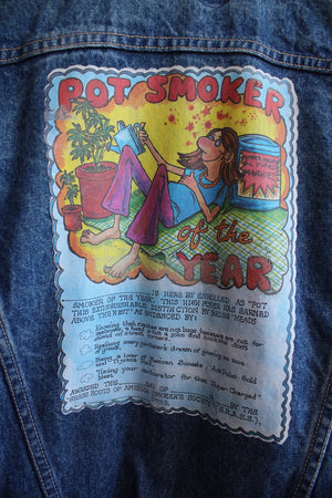 1970 Pot Smoker Levi Denim Jacket
