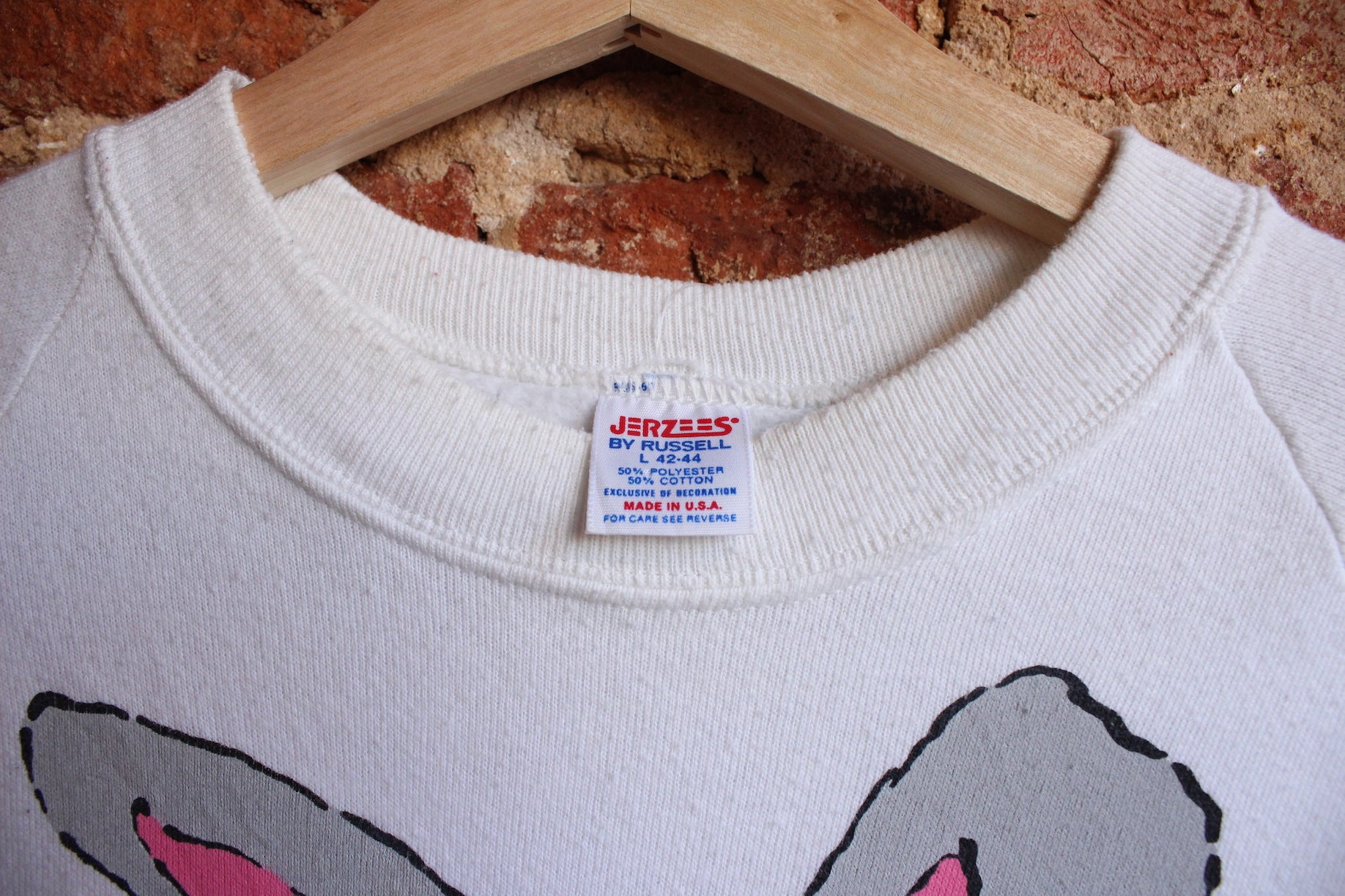 """Too Cool"" Bunny Crewneck"