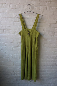 90s Green Jumpsuit
