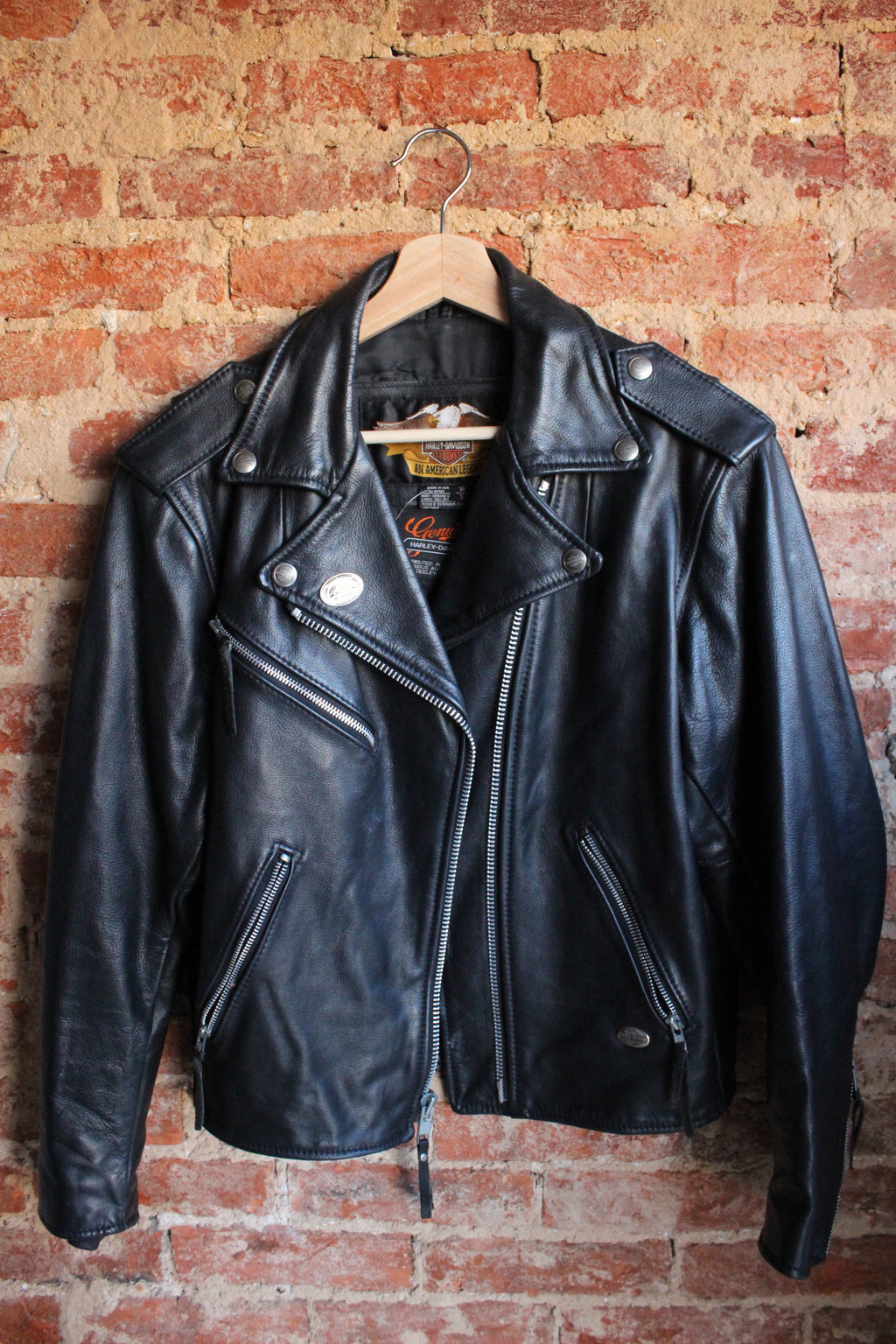 Genuine Leather Harley Davidson Jacket