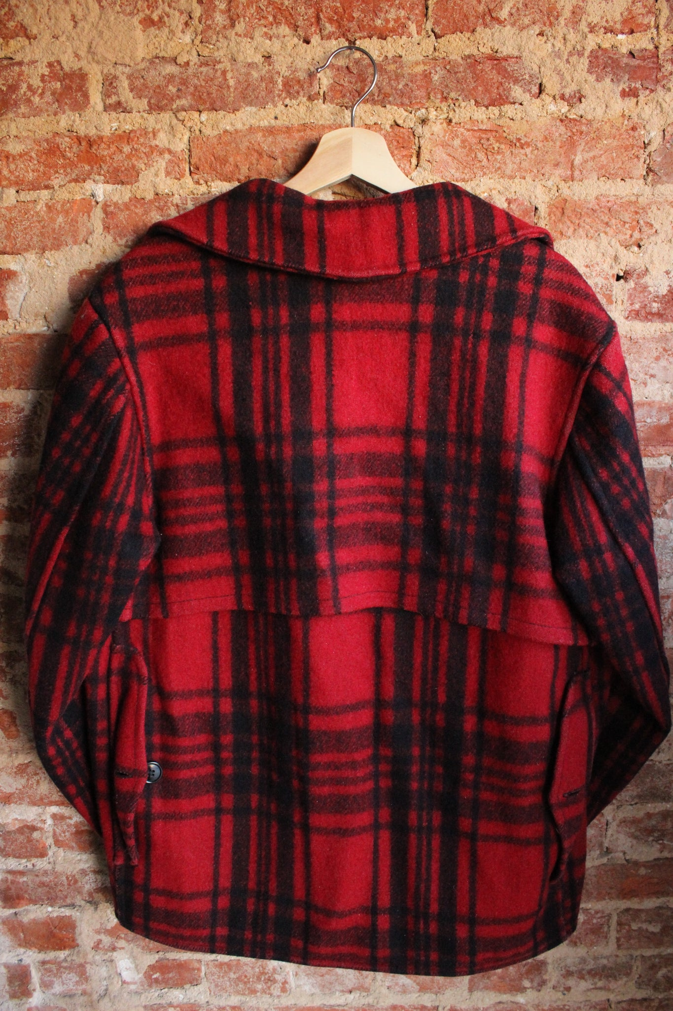 SOO WOOL Plaid Jacket