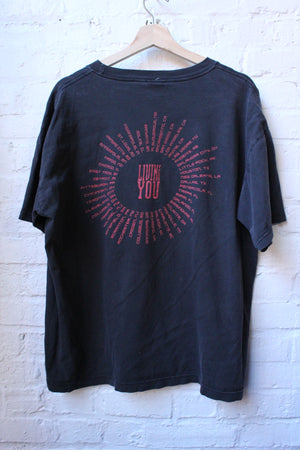 1995 Boston Living For You Tour Tee