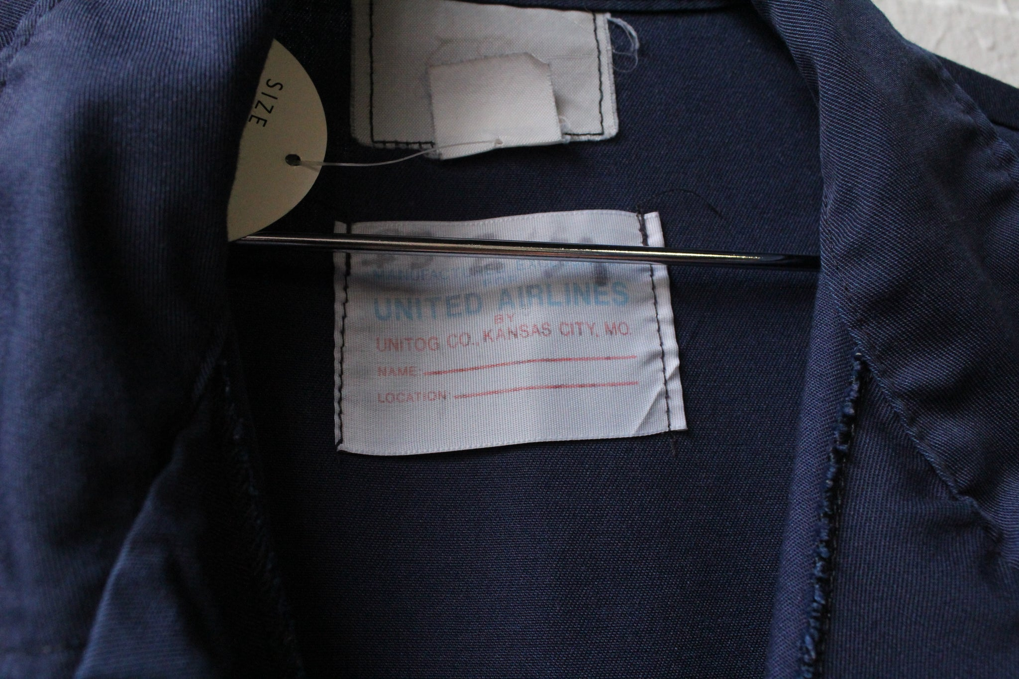 United Airlines Mechanic Jumpsuit