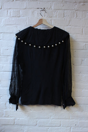 Stretch Run Pearl Top