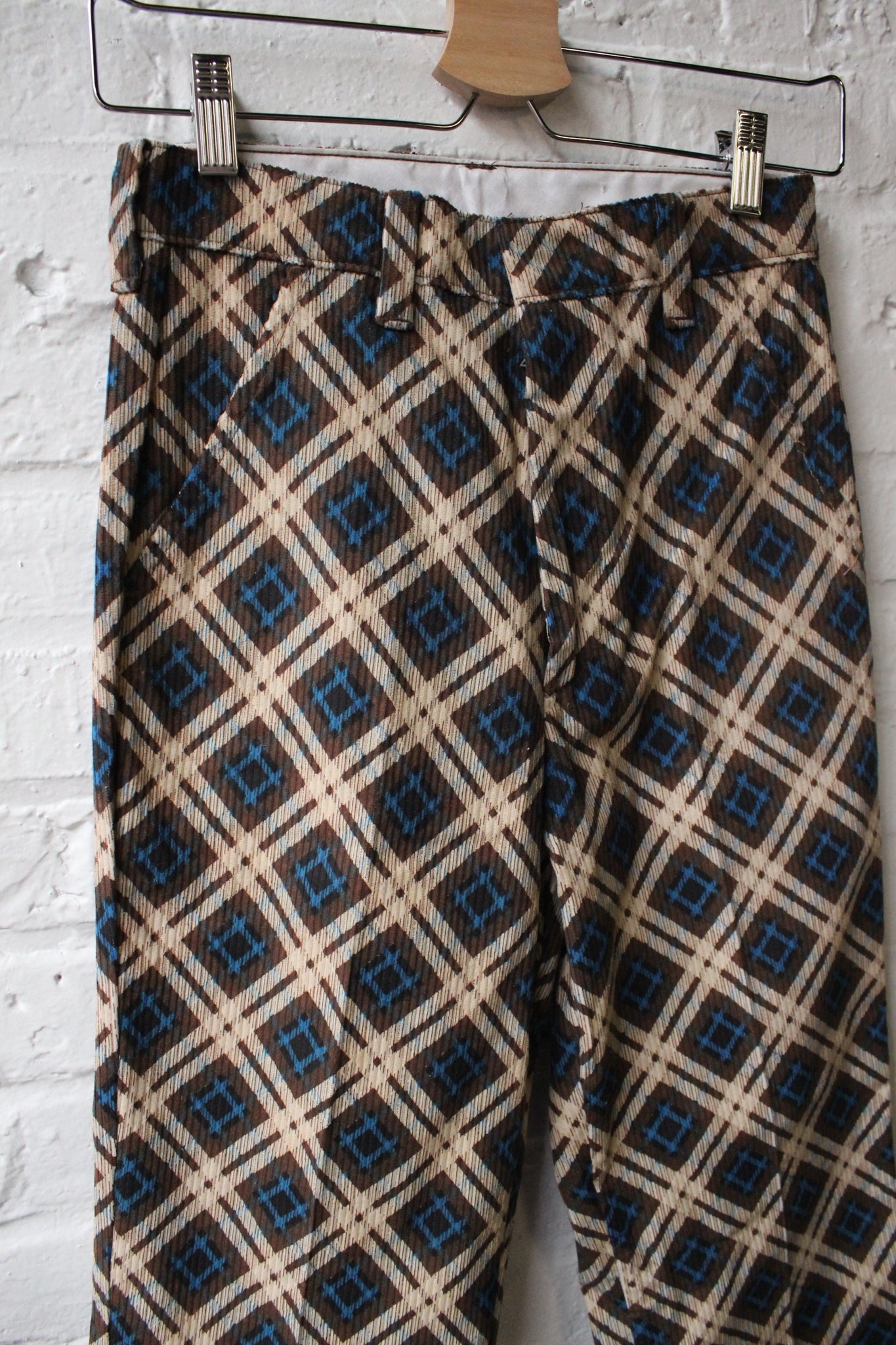 1960's Deadstock Plaid Pants