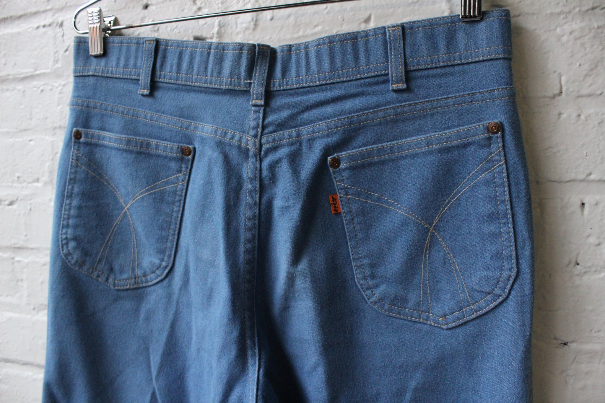 True Blue Denim Levi Jeans