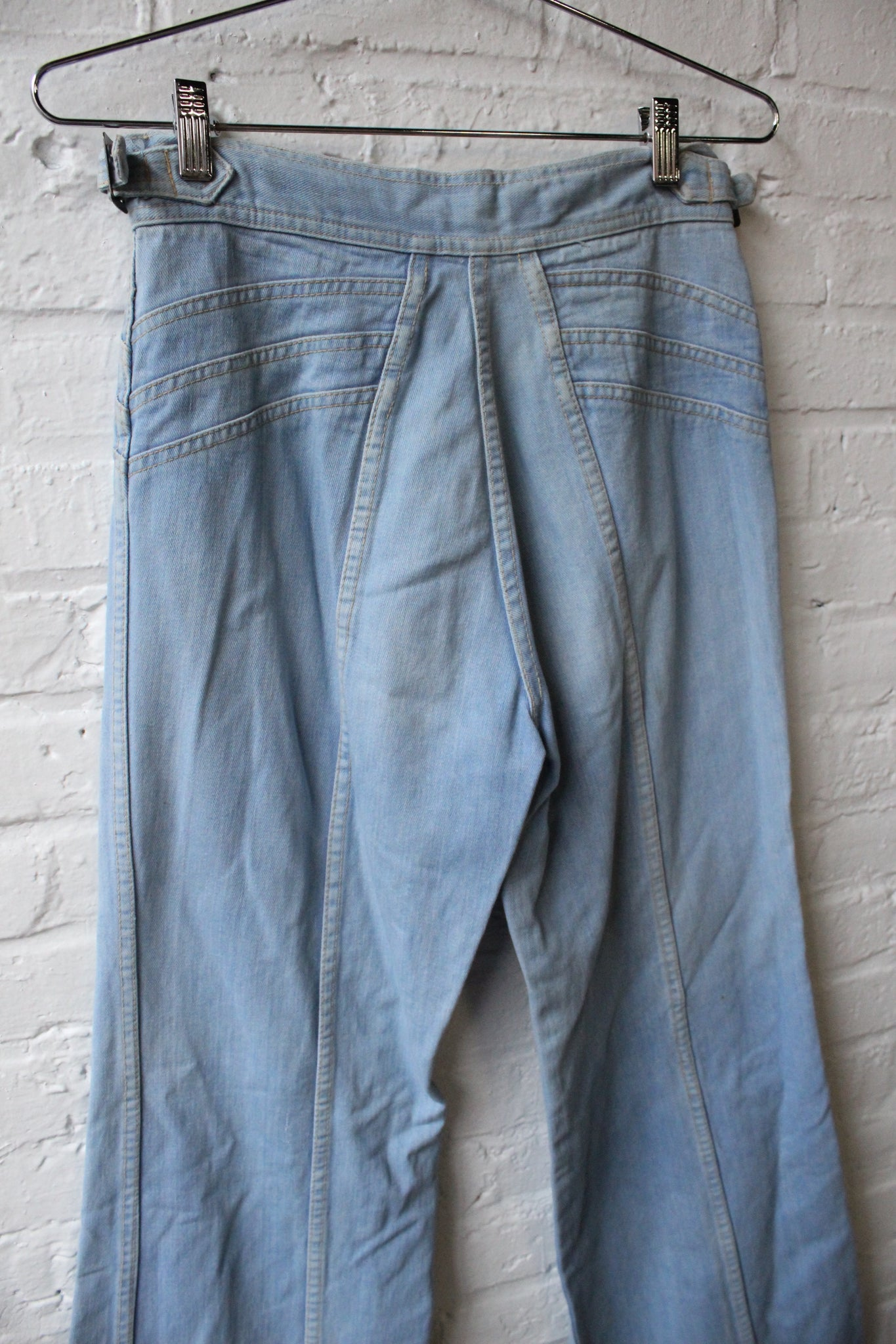 1970 Pentimento Flare Jeans