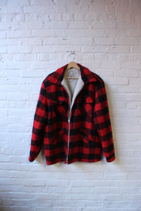 Snow Wear Fur Lined Flannel Jacket