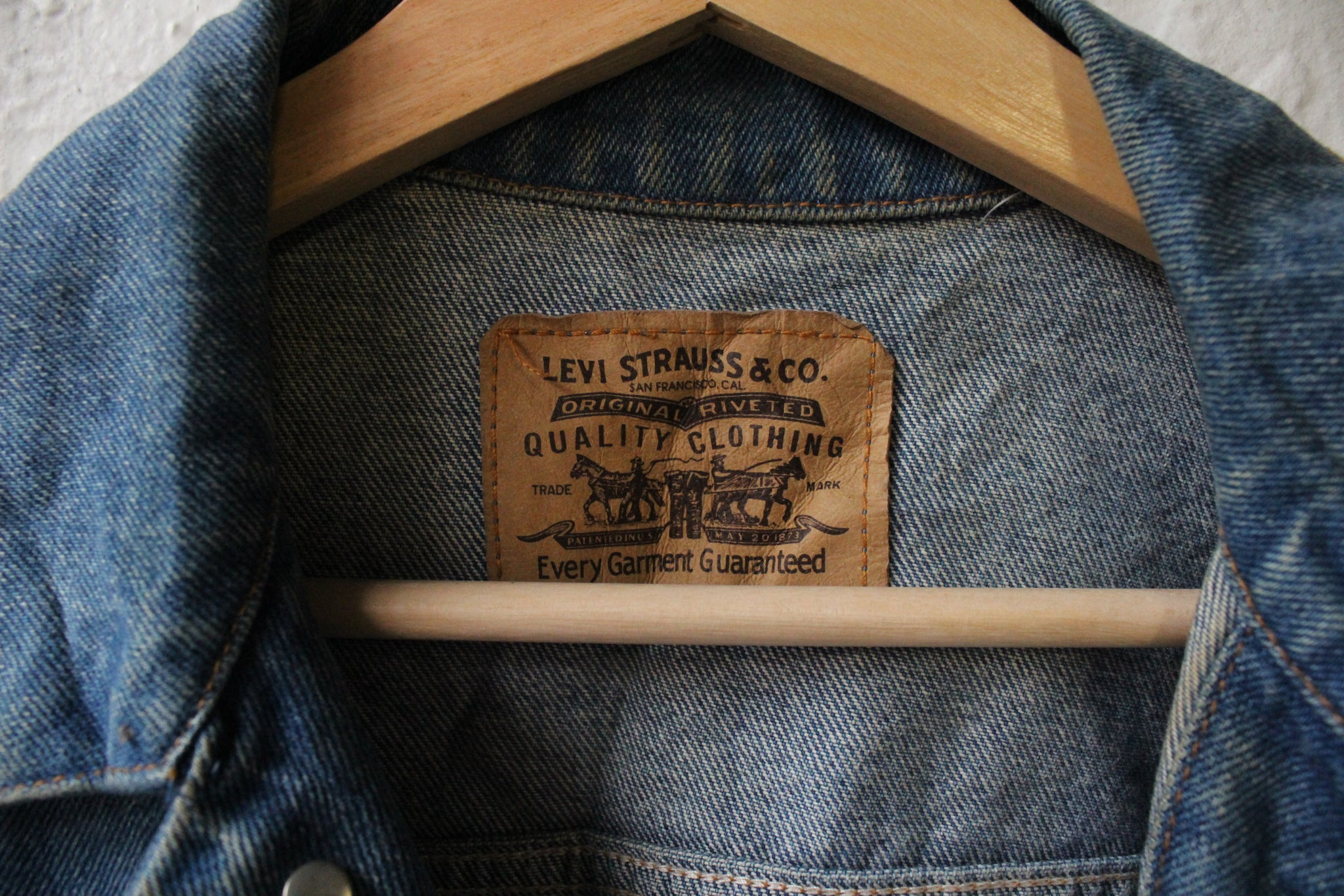 90's Levi Denim Jacket