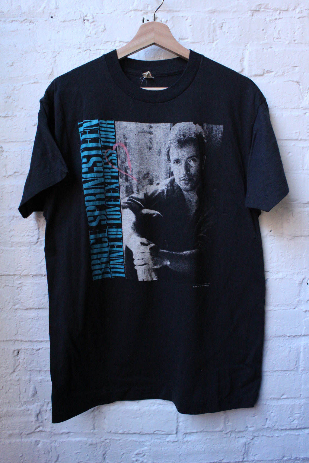 Bruce Springsteen Tunnel Of Love Tour Tee