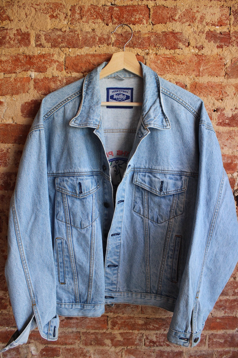Hard Rock Save the Planet Denim Jacket