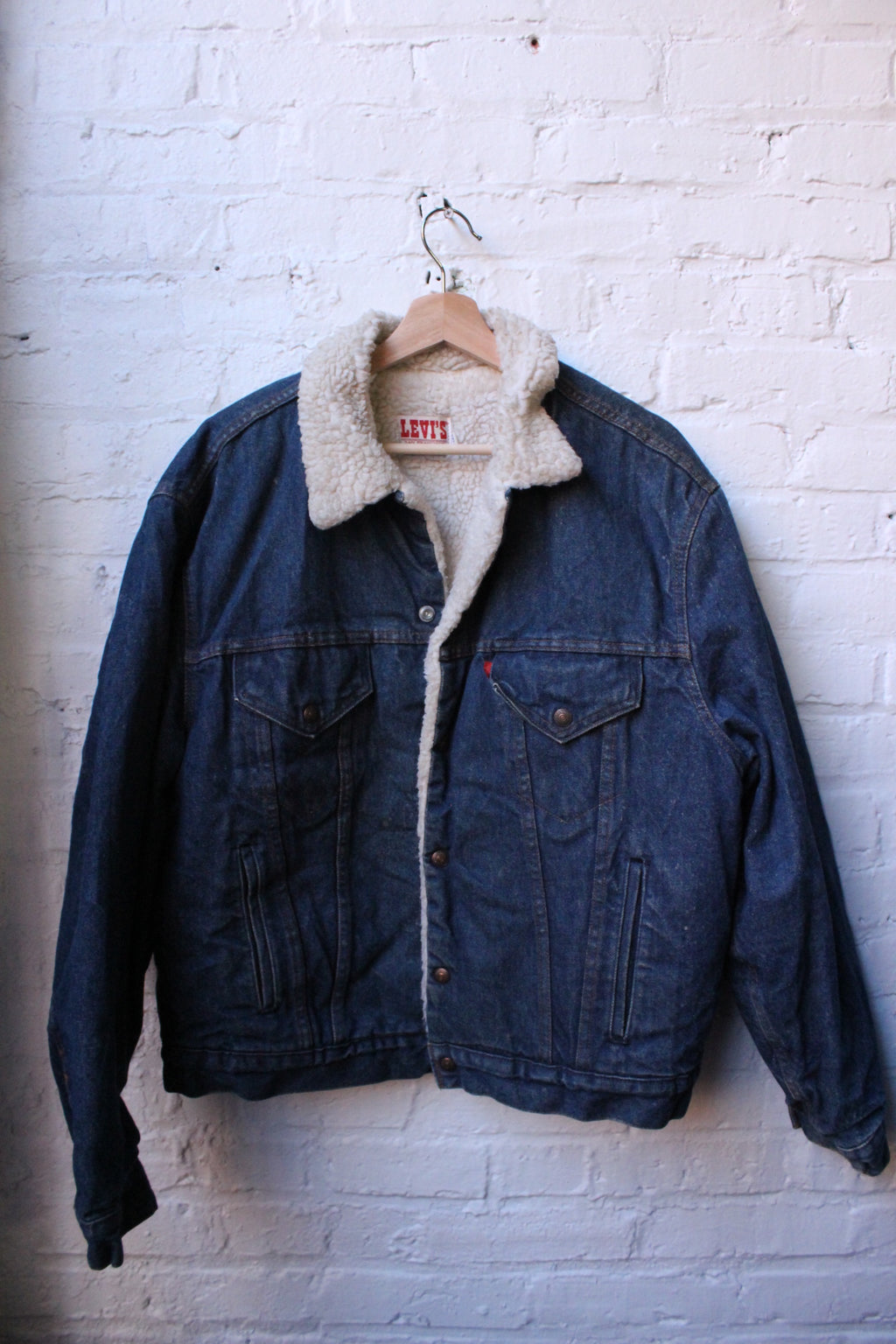 Levi Sherpa Lined Denim Jacket