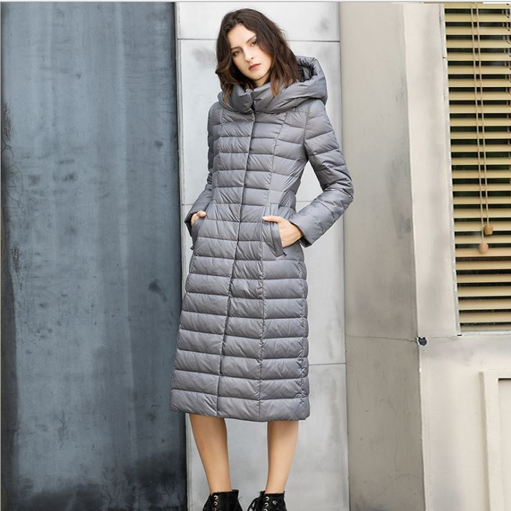Dekorhea Hooded Faux-Fur-Trim Puffer Coat