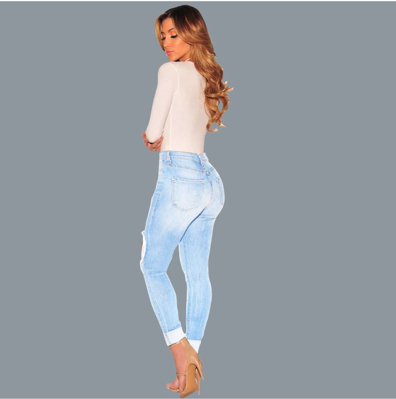 Dekorhea skinny jeans ripped jeans for women