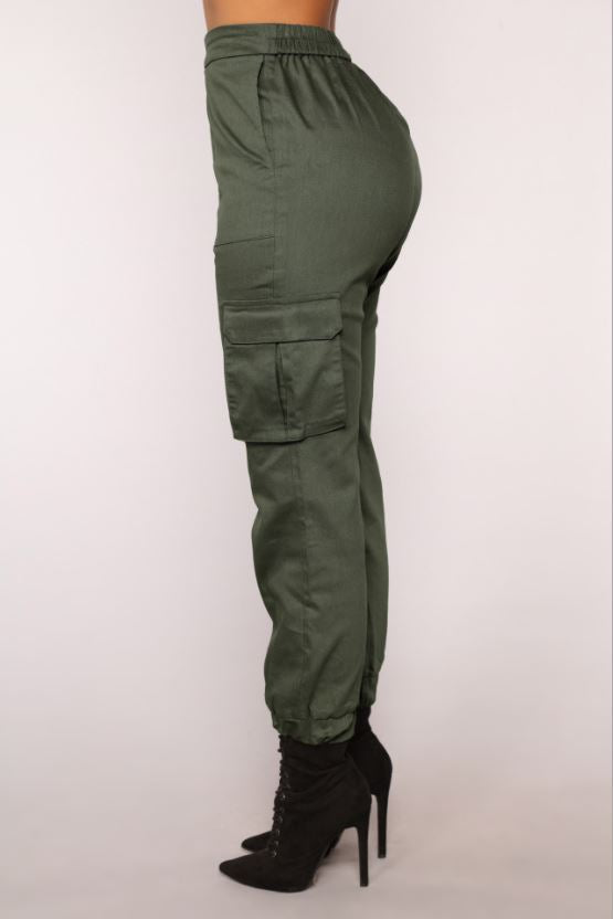 Dekorhea cargo pants for women