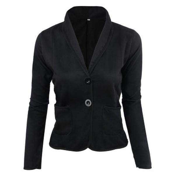 Dekorhea Angora-blend Shawl Collar Jacket