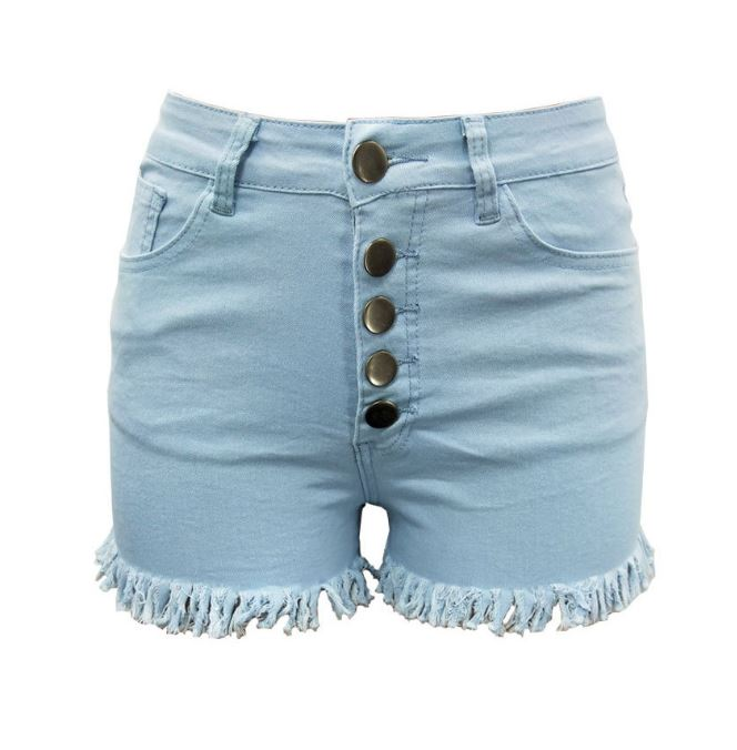 Dekorhea High waisted denim shorts for women