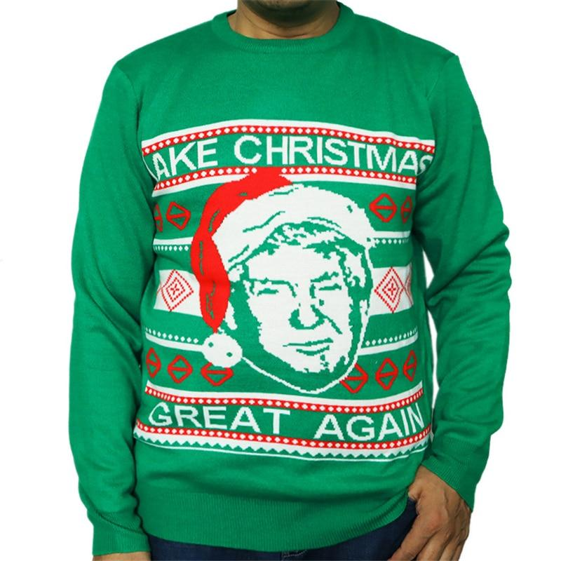 """GREAT AGAIN""Ugly Christmas Sweater"