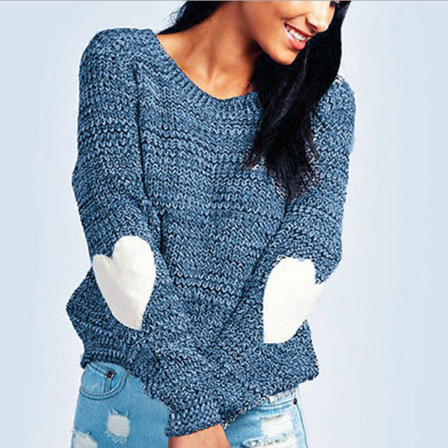 Women Sweaters Autumn Winter Cashmere Pullovers Lady long Sleeve Sweater