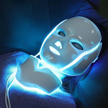 Load image into Gallery viewer, 7 COLORS LED FACE REJUVENATION MASK FOR FACIAL AND NECK