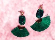 Load image into Gallery viewer, DAZZLING RESIN FRINGE EARRINGS