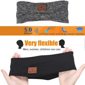 WIRELESS BLUETOOTH HEADSET HEADBAND / TURBAN