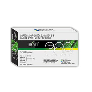 BIOVIT 369 natural omega 369 with essential fatty acids