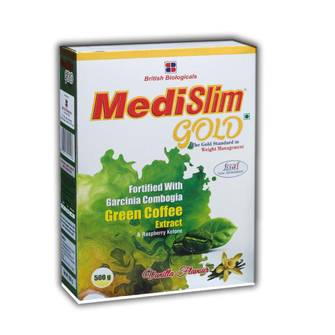 MEDISLIM GOLD - Gold Standard Weight Management Supplement (Vanilla)